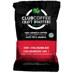 Club Craft Roasters 100% Colombian RA (2.25oz) 96ct