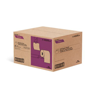 Cascades Pro Select Roll Paper Towels Kraft 24x205'