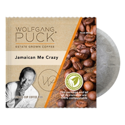 Wolfgang Puck Jamaican Me Crazy Coffee Pods 18ct