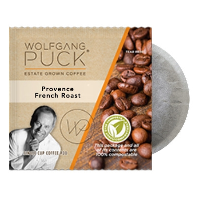 Wolfgang Puck Provence French Roast Coffee Pods 18ct