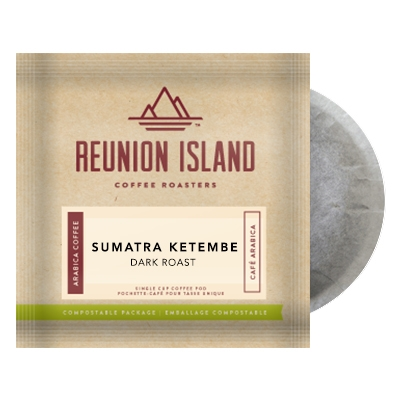 Reunion Island Sumatra Ketambe Coffee Pods 16ct