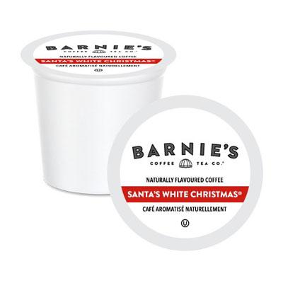 barnies coffee tea santas white christmas coffee 24ct