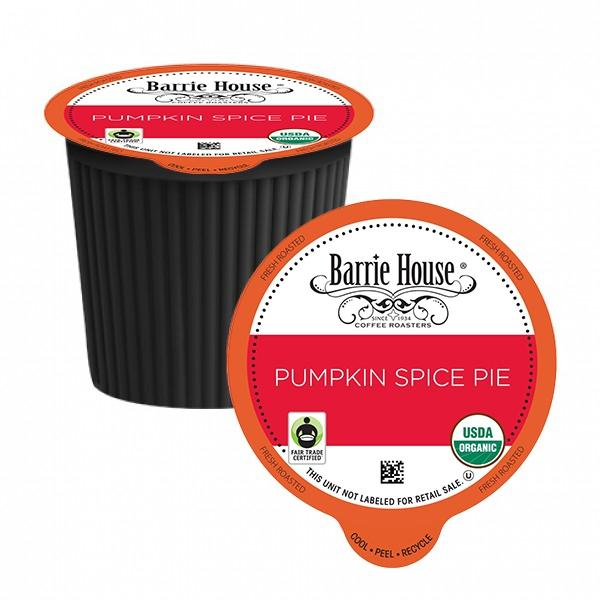 Barrie House Pumpkin Spice Pie Coffee Pods 24ct SALE