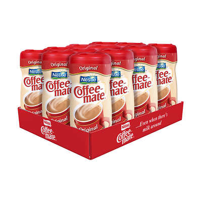 Coffee-mate Original Creamer Canisters 12x450g