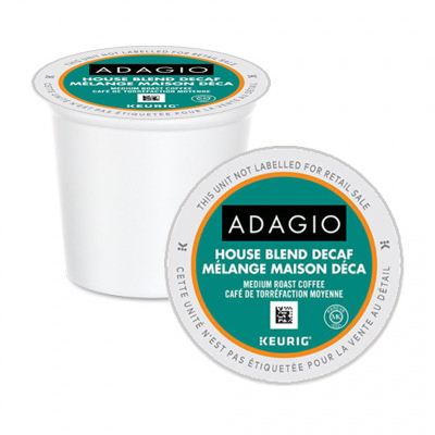 Adagio House Blend Decaf K-Cups 24ct