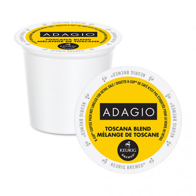 Adagio Toscana Blend K-Cup Pods 24ct