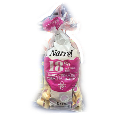 Natrel 18% Creamers (9ml) 160ct