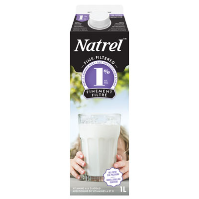Natrel Fine-Filtered 1% Milk - 1L