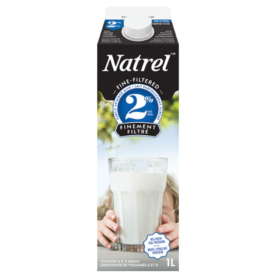 Natrel Fine-Filtered 2% Milk - 1L