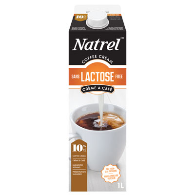 Natrel Lactose Free 10% Coffee Cream - 1L
