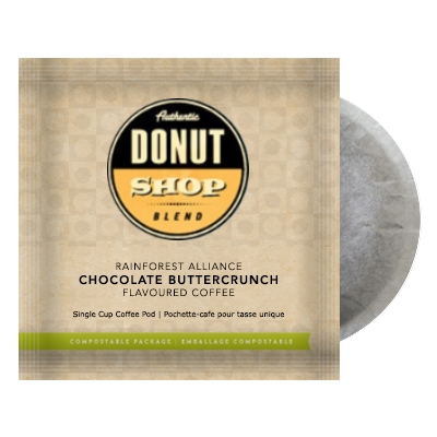 Donut Shop Blend Chocolate Buttercrunch Coffee Pods 16ct